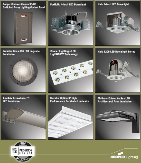Cooper Lighting Products Accepted in 2010 IES Progress Report & Cooper Lighting Products Accepted in 2010 IES Progress Report ...