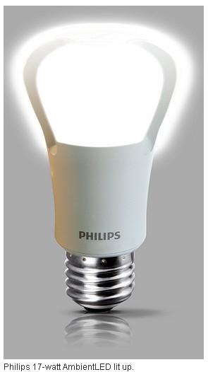 philips 75 watt equivalent led bulb costs ledinside. Black Bedroom Furniture Sets. Home Design Ideas