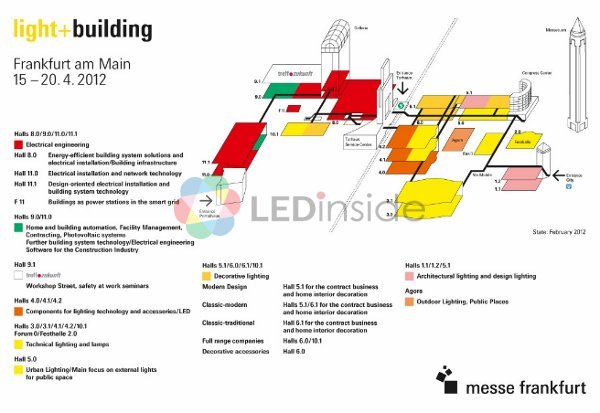 light building 2012 report i global big names showcased latest