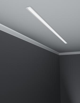 Lumenpulse challenges fluorescent market with release of lumenline adapting to a wide variety of architectural and commercial building interiors the system is available in pendant surface mount and recessed formats mozeypictures Gallery