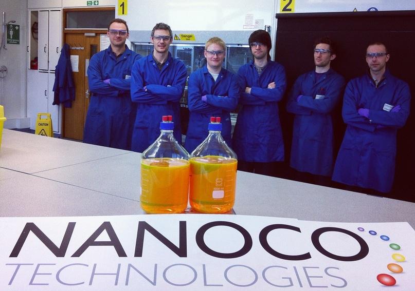 Nanoco runcorn