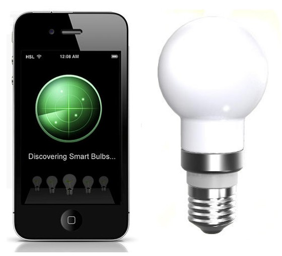 Bluetooth smart wireless intelligent led light bulb ledinside Smart light bulbs