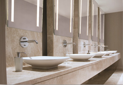 Aamsco now offers mirror lux ada angled mirror with energy - Ada bathroom mirror requirements ...