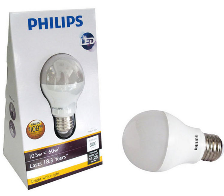 Philips starts a long anticipated led bulb price war for less than 15 ledinside Led light bulb cost