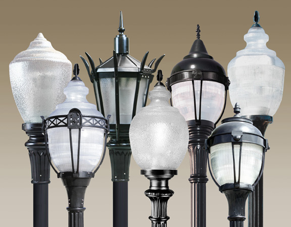 acuity brands introduces energy saving post top led luminaires from antique street lamps ledinside. Black Bedroom Furniture Sets. Home Design Ideas