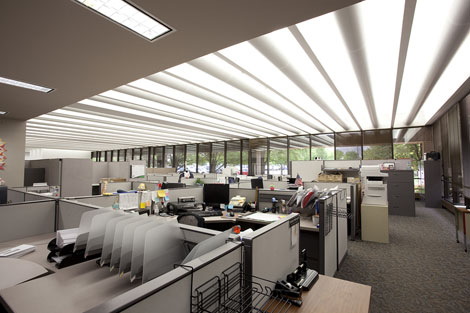 Ge S Outdoor And Office Lighting Solutions Help Metlife