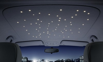 Freudenberg Shows Off Starlight Led Overhead Lights At