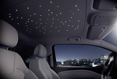 freudenberg shows off starlight led overhead lights at frankfurt auto show ledinside. Black Bedroom Furniture Sets. Home Design Ideas
