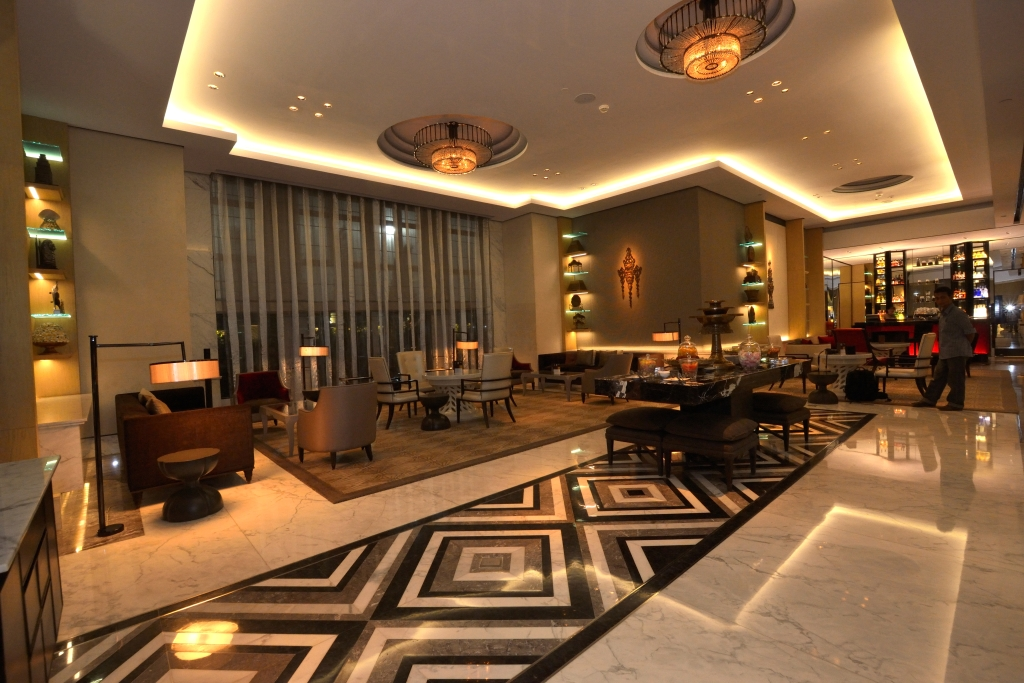 Keratonat The Plaza Exudes Luxury With Ge S Led Hotel