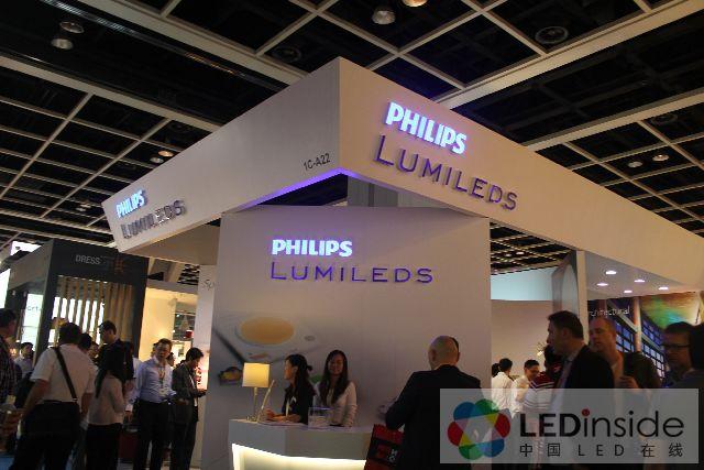 (LEDinside) Philips Lumileds positions itself in a popular spot at the Hong Kong fair. (LEDinside) & HK Intu0027l Lighting Fair Focuses on Sophisticated LEDs - LEDinside azcodes.com