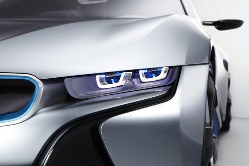 BMW i8 Concept Car Headlights