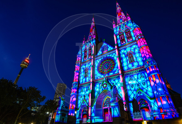 technical direction company play of light brightens up australia christmas ledinside - Led Projector Christmas Lights