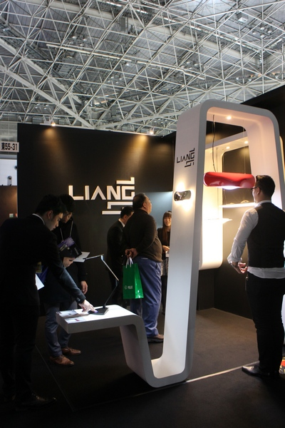 Liang booth at Lighting Design 2014