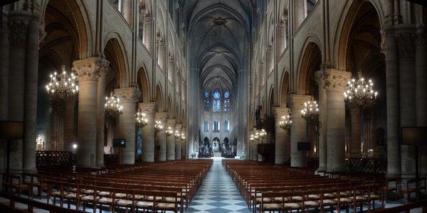 Paris Notre Dame lit up with Philips LED lights