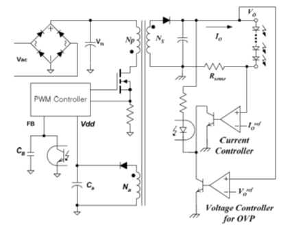 Fairchild: Primary Side Regulated Flyback LED Driver with Power