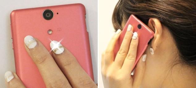 Smart Led Nails That Light Up Near Nfc Signals
