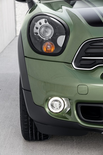 New Mini Countryman Equipped With Led Lights Ledinside