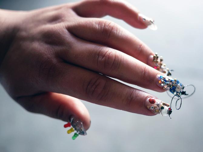 Nail Art Becoming Next Wearable Device Frontier - LEDinside