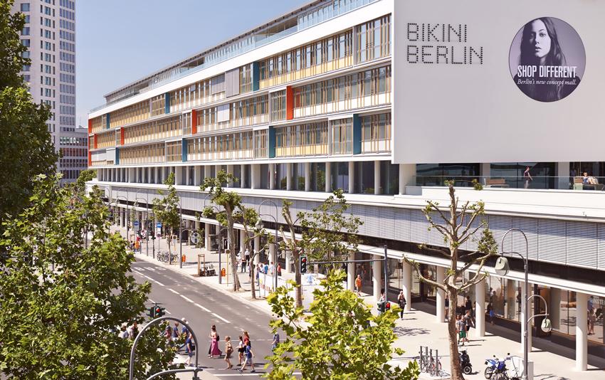 bikini berlin concept mall bathed in light from over 1000 elation led luminaires ledinside. Black Bedroom Furniture Sets. Home Design Ideas