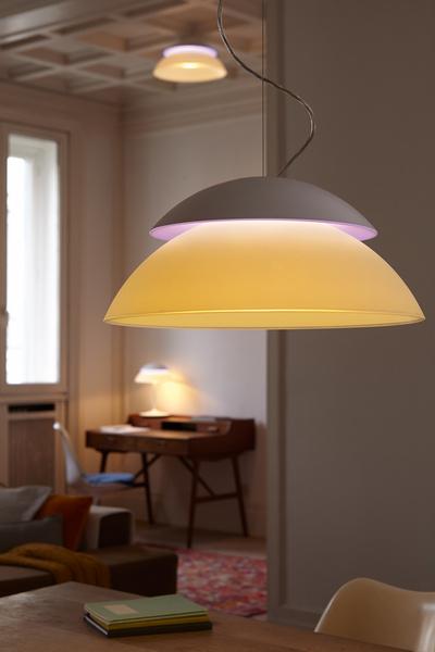 philips integrates two light sources in hue beyond ledinside. Black Bedroom Furniture Sets. Home Design Ideas