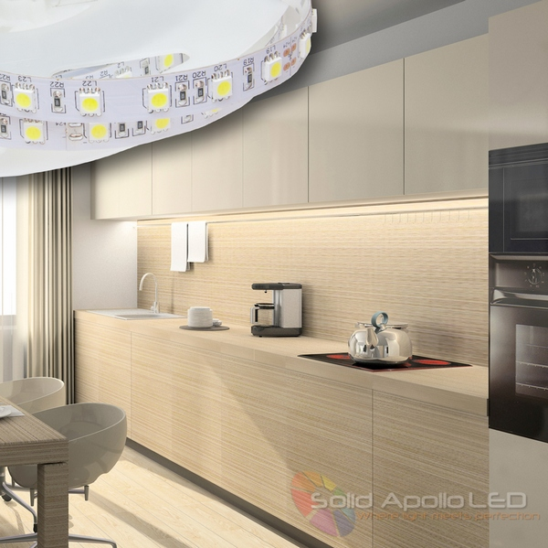 Solid apollo led expands led strip light product portfolio ledinside solid apollo leds indoor led lighting applications solid apollo led ledinside mozeypictures Choice Image