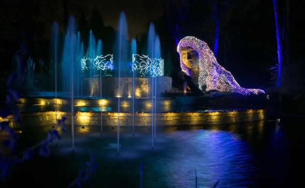 Garden Lights Holiday Nights At The Atlanta Botanical Garden Ledinside