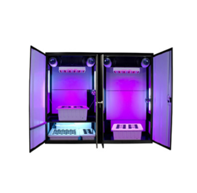 SuperCloset Launches LED Grow Cabinet System. (SuperCloset)