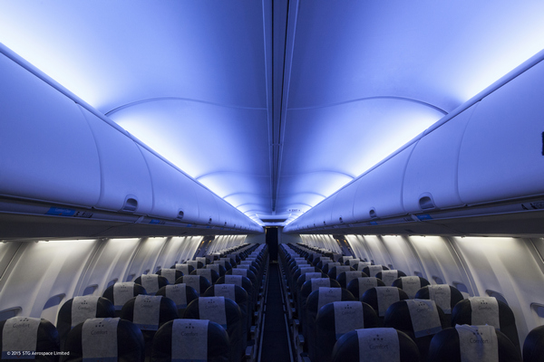 Stg Aerospace Wins Led Cabin Mood Lighting Contract With