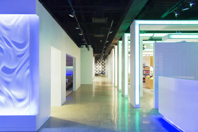 Philips Lighting Application Center A Visual Lighting Wonderland