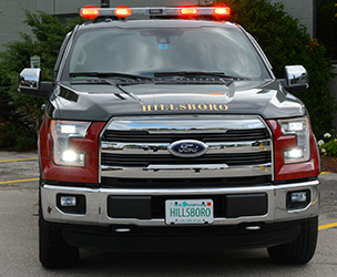 The Hillsboro Fire Department New Ford F  Trucks Are Equipped With Led Headlights Osram Sylvania Ledinside