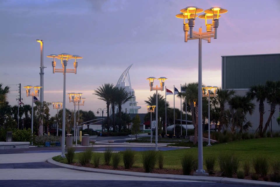 luminis turtle friendly lighting solutions in port canaveral s ship