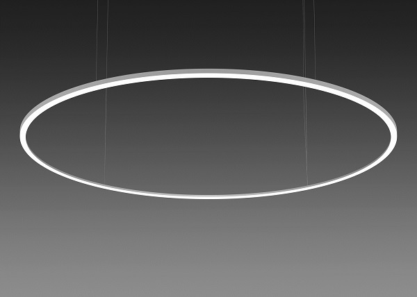 alw releases new moonring luminaire with suspended and surface mount models ledinside. Black Bedroom Furniture Sets. Home Design Ideas