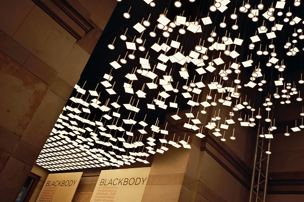 Lg Chem Oled Panels Transformed Into Lighting Sculptures At