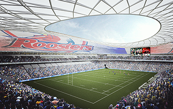 Sydney S National Football Stadium To Include Led Curtains