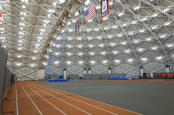 Princeton S Gym Upgraded With Led Lighting System Ledinside