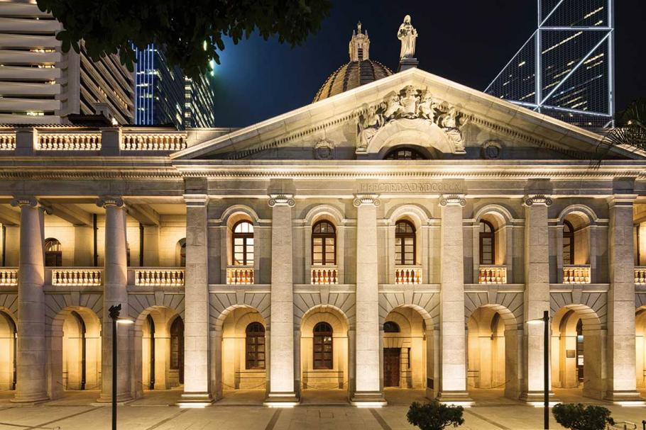 Hong Kong S Historical Architecture Relives With Led