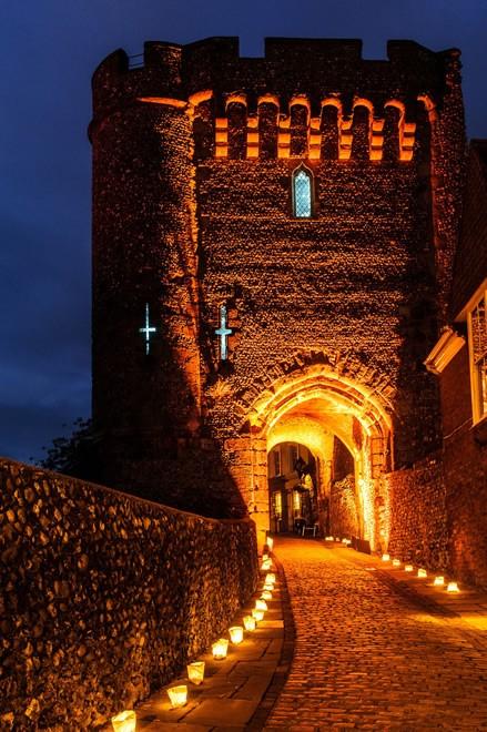 Illuminating Uk Castle With New Lighting Technology Ledinside