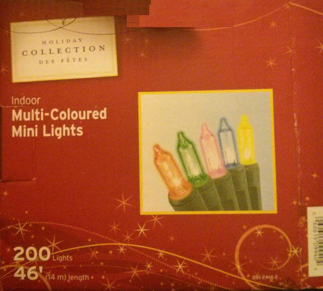 Canadian Tire Corporation Recalls Decorative Holiday LED Lights Over Fire Hazards - LEDinside
