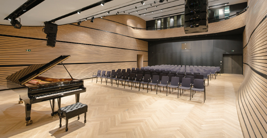 zumtobel chair architectural area lighting | Zumtobel Lights up Austrian Art and Concert Hall with LEDs ...