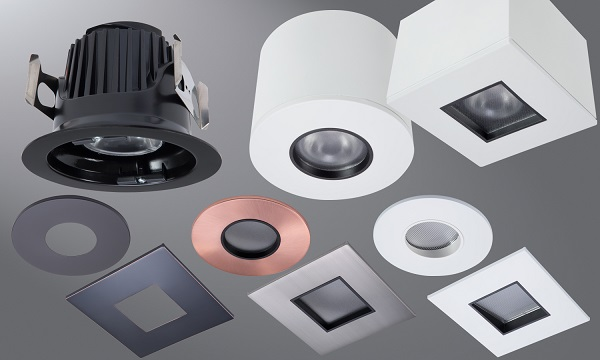 Eaton Introduces Modular Led Pinhole Downlights For