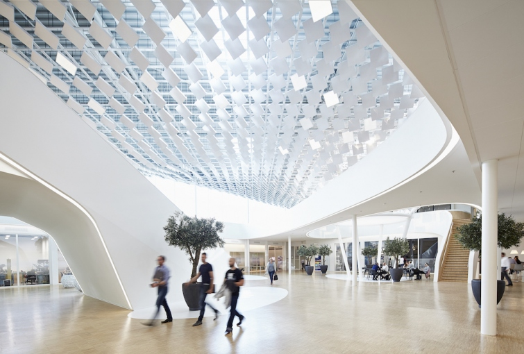 LAVA Designs New Light Canopy for Philips Lighting Headquarters & LAVA Designs New Light Canopy for Philips Lighting Headquarters ...