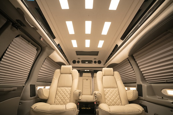 lg display customizes oled interior lighting for automobiles ledinside. Black Bedroom Furniture Sets. Home Design Ideas