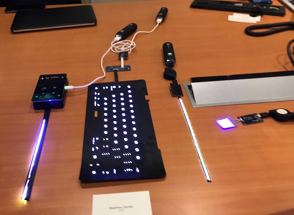 Rohinnis micro led technology initially targets keyboard backlight samples of rohinnis micro led products including light strips keyboard backlight and leds viewed under normal lighting e led light strips can be aloadofball Images
