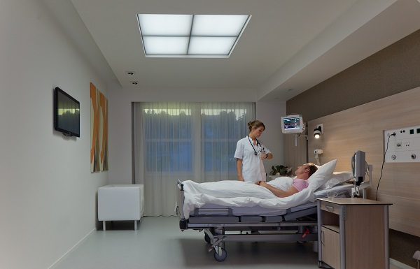 Philips Lighting Brightens Hospital Patient Rooms With Next