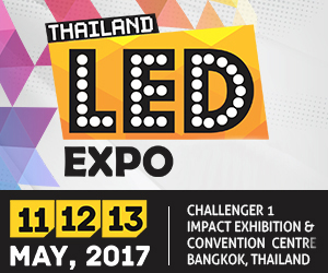 LED Expo Thailand 2017 increases focus on international