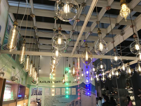 Hk lighting fair 2017 highlights and market trends ledinside kailin hk lighting started out as a manufacturer of incandescent bulbs and then shifted its focus to led filament bulbs ledinside aloadofball Images