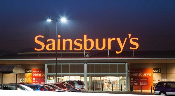 Cur Powered By Ge Offered Full Lighting Support To Sainsbury Image