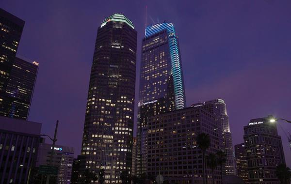 wilshire grand standardvision s brilliance behind the lights
