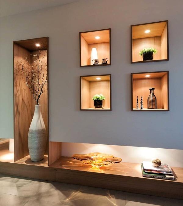 Cozy Shelf Lighting With Lumibright Way Mini Spotlights