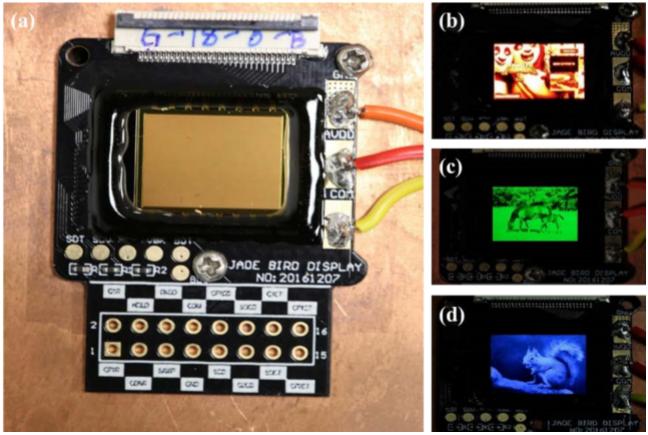 AMµLED micro-display
